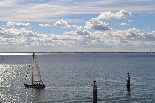 Het Veerse Meer, vlakbij Geersdijk